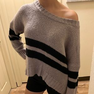 Lavender oversized sweater